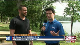 Way 2 Summer Fun hits Greenleaf State Park - Video