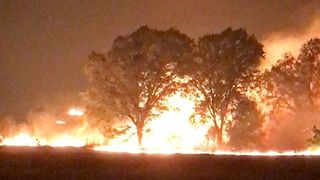 Fires Force Evacuations in Three California Counties