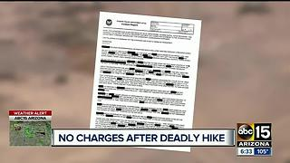 No charges in Valley hiking death of 12-year-old boy - Video