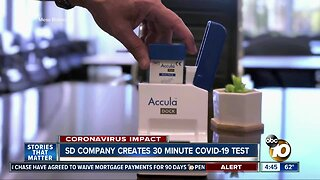 San Diego company gets FDA approval for 30 minute COVID 19 test
