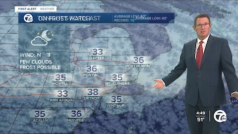 Patchy frost tonight?