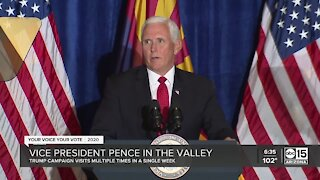 Vice President Mike Pence in the Valley