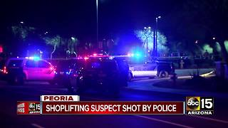 Peoria police investigating officer-involved shooting near Walmart
