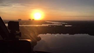 Mosquito control treating over Marco Island - Video