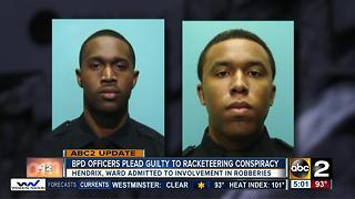 Two Baltimore police detectives plead guilty to armed robberies in racketeering case - Video