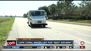 Cape Coral listed among America's best drivers in new report