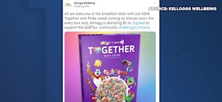 Kellogg's to release new heart-shaped cereal for pride month