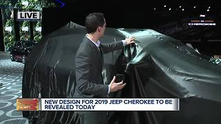 New design for 2019 Jeep Cherokee to be revealed today
