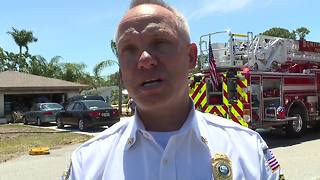 House destroyed by fire in Bonita Springs - Video
