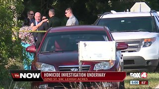 Homicide investigation launched in Lehigh Acres Monday