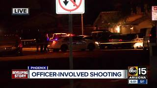 Police involved in west Phoenix shooting - Video