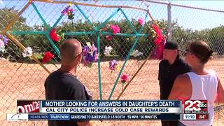 California City cold case rewards increased - Video