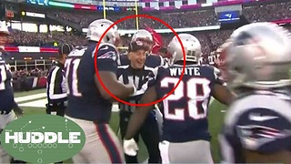 Did the Refs RIG the Patriots Win Against the Jaguars? -The Huddle - Video
