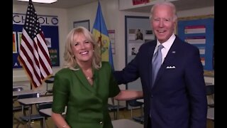 Jill Biden travels virtually to Las Vegas