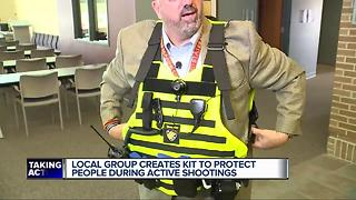 Metro Detroit men come up with kit to use in active shooter event - Video