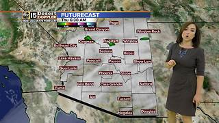 Clouds, rain chances in the forecast - Video