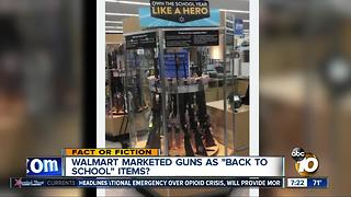 """Back to school"" guns?"