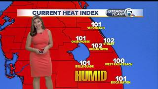 South Florida Tuesday afternoon forecast (8/15/17) - Video