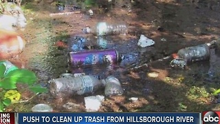 New efforts underway to clean Hillsborough River - Video