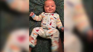 Cute Baby Enjoys Dance Lessons - Video