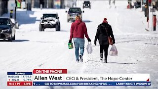 Winter Storm Slams Texas