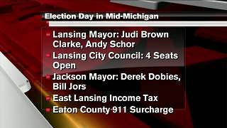 Voters will decide a number of races in Mid-Michigan Tuesday - Video