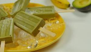 Avocado Green Tea Popsicle - Video