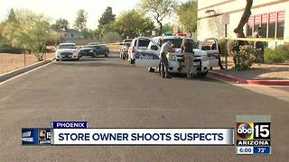One suspect identified in attempted Phoenix coin store robbery - Video