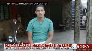 'Dreamer' Kicked Out of US Is Back After Climbing Over Border Wall and Now He's in Real Trouble - Video