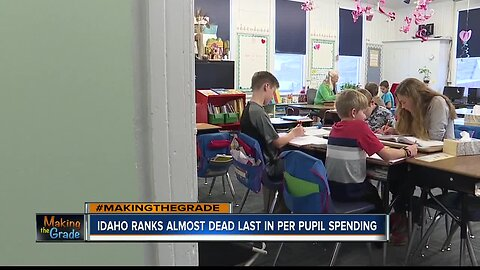 MAKING THE GRADE: Idaho's per pupil spending puts us in second-to-last place