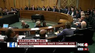 Senate Rules Complicated A Committee Vote On Mike Pompeo's Nomination