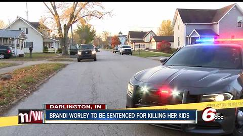 Indiana mother who killed her 2 kids to be sentenced Monday