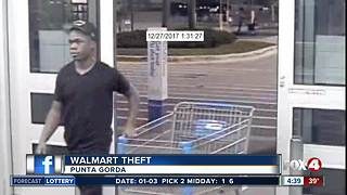 Police looking for Punta Gorda Walmart thieves - Video
