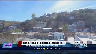 14-year-old arrested for human smuggling - Video