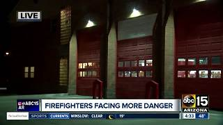 Firefighters face more hostile environments than ever - Video
