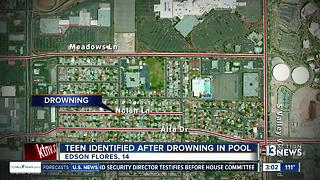 14-year-old boy drowns Tuesday - Video