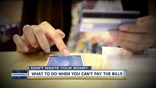 What to do when you can't pay the bills