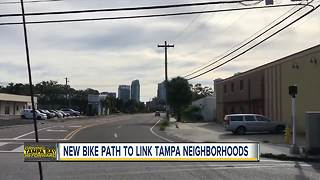 Tampa protected bikeway extended sooner than expected