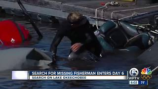 Search continues on Lake Okeechobee for Nik Kayler