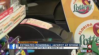 $700 million powerball jackpot - Video