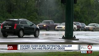 Tax increase stirring debate in Collier County - Video