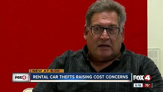 Rental car theft affecting SWFL businesses - Video