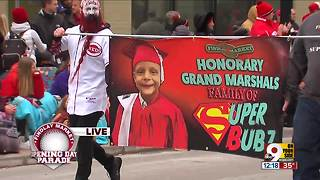SuperBubz honored at 99th Findlay Market Opening Day Parade - Video