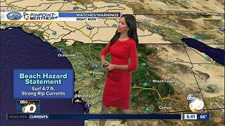 10News Pinpoint Weather for Saturday Oct. 7, 2017 - Video