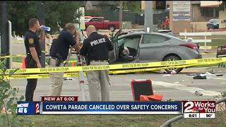 Coweta parade cancelled over safety concerns - Video