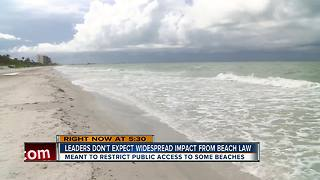 New beach law starts Sunday; What it means for your next trip to the beach