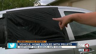 Cape Coral cars, home damaged by driveby shooter - Video