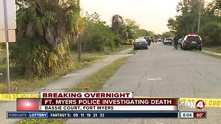 Death investigation is underway for Fort Myers Police