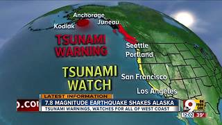 Earthquake shakes Alaska - Video