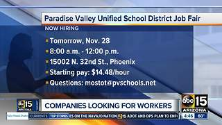 Companies hiring now in Phoenix - Video